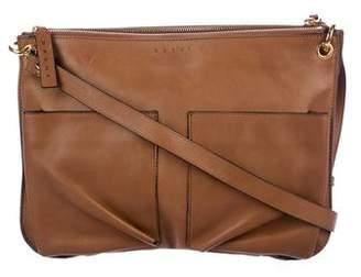 Marni Bandolier Double Pocket 2-in-1 Crossbody Bag