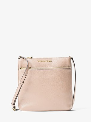 MICHAEL Michael Kors Riley Small Pebbled Leather Messenger Bag