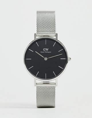 Daniel Wellington DW00100162 mesh watch in silver