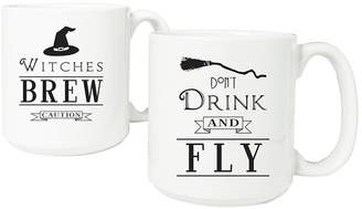 Cathy's Concepts CATHYS CONCEPTS Witches Brew 20-Oz. Large Coffee Mug Set