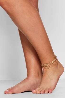 boohoo Plus Ball Chain Anklet