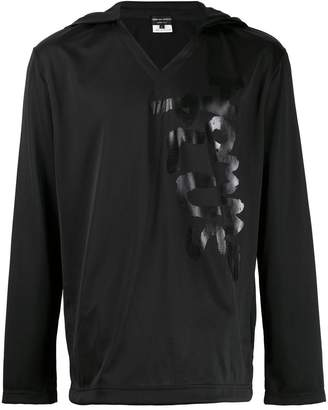 Comme des Garcons logo print hoodie