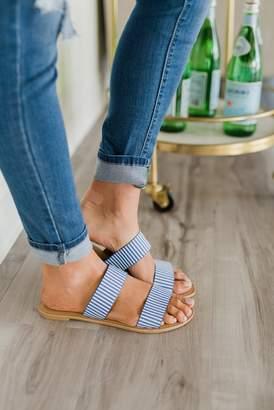 Stripe Strap Sandals