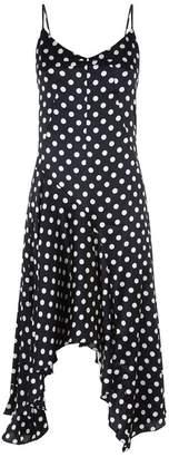 Caroline Constas Marie Printed Slip Dress