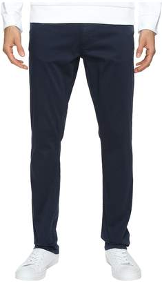 Calvin Klein Jeans Slim Straight Stretch Sateen Pants Men's Casual Pants