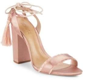 Schutz Tassel Ankle-Strap Sandals
