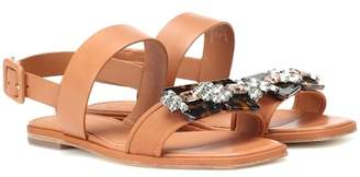 Tory Burch Delaney leather sandals