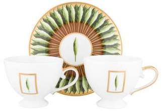 Philippe Deshoulieres 3-Piece Jardins de Florence Tea Set