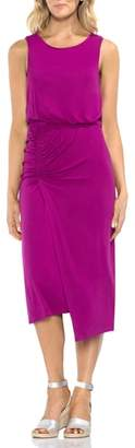 Vince Camuto Ruched Midi Dress