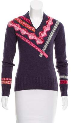 Oilily Patterned Wool Sweater