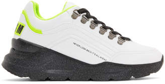 MSGM Black Never Look Back Sneakers