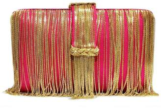 Simitri - Pink & Gold Braided Belt Chunky