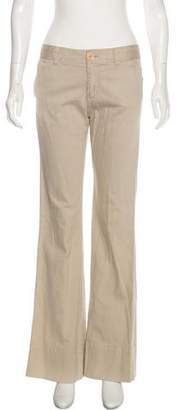 Marc Jacobs Mid-Rise Flared Pants
