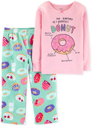 Carter's Toddler Girls Donut-Print Pajamas