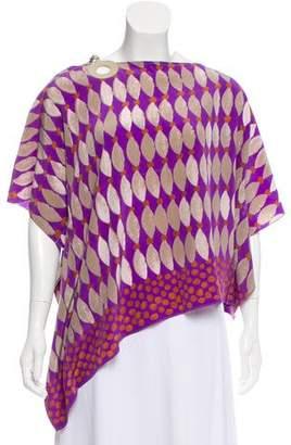 Loro Piana Printed Silk Top