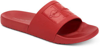 Calvin Klein Jeans Women's Christie Pool Slides, Created For Macy's Women's Shoes