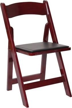 PRE Sales Classic Vinyl Padded Folding Chair (Set of 4) PRE Sales