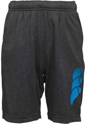 Canterbury of New Zealand Junior Boys VapoDri Cotton Shorts Vanta Black Marl