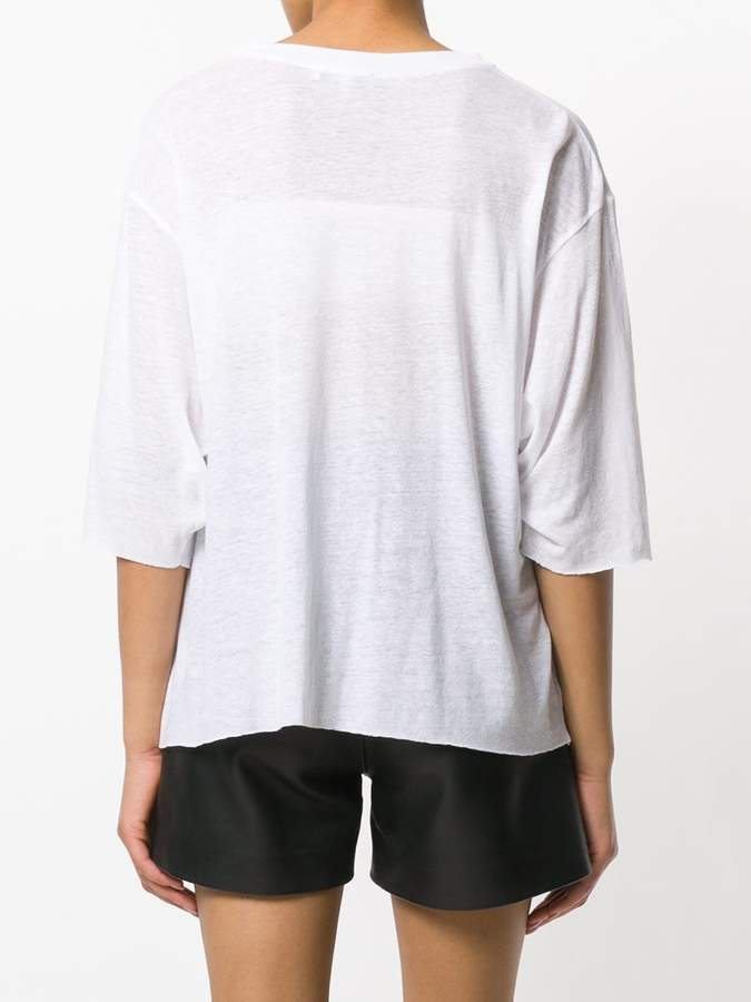 IRO three quarter sleeve T-shirt