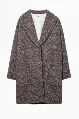Zadig & Voltaire Mika Fantaisie Coat