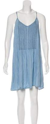 Sanctuary Sleeveless Chambray Dress