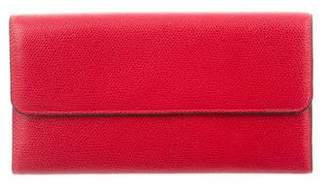 Valextra Continental Wallet w/ Tags