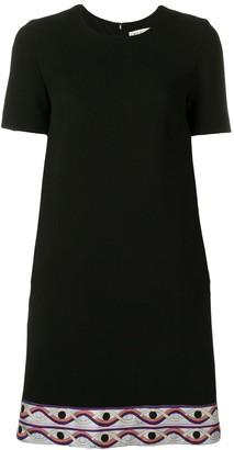 Emilio Pucci Contrast Hem Mini Dress