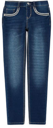 Arizona Jegging with Embellished Pockets - Girls' 4-16 & Plus