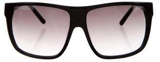 Jimmy Choo Oversize Tinted Sunglasses