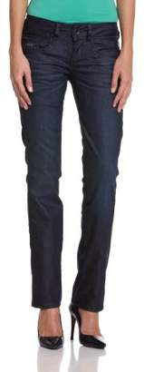 G Star G-Star Women's New Ford Straight Jeans, Comfort D.I. Denim in Rugby Wash