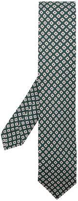 Kiton all-over print tie