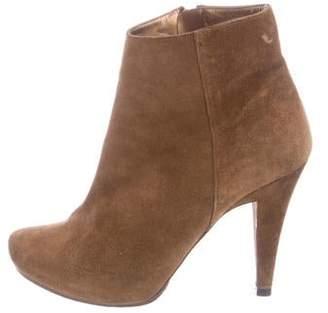 Pura Lopez Suede Ankle Boots
