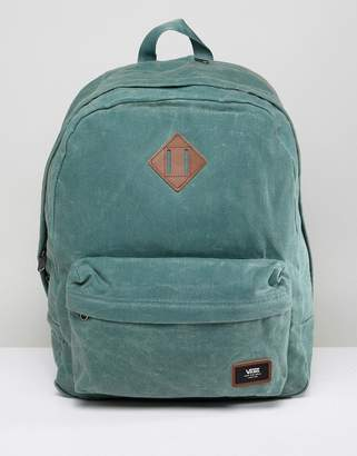Vans Old Skool Plus Backpack In Forest Green