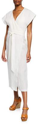 Marysia Swim Watermill Coverup Wrap Dress