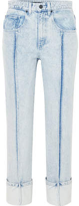 Alexander Wang High-rise Slim-leg Jeans - Light denim
