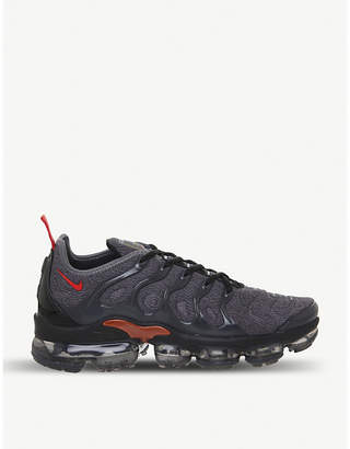 Nike VaporMax Plus stretch-knit and rubber trainers