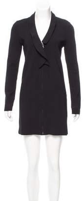Valentino Long Sleeve Mini Dress