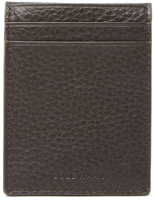 Cole Haan Leather Flap Magnetic Money Clip