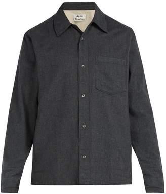 Acne Studios Long-sleeved cotton shirt