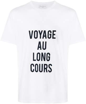 Officine Generale Voyage Au Long Cours T-shirt