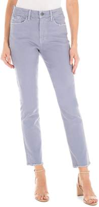 Fidelity Madison Ripped High Waist Straight Leg Jeans