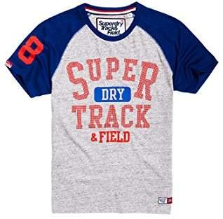 Superdry Men's Trackster Baseball Tee T-Shirt