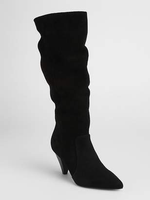 Gap Tall Slouchy Suede Boots