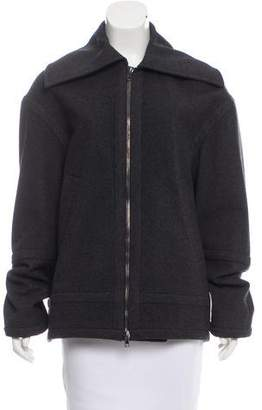 Reed Krakoff Point Collar Short Coat