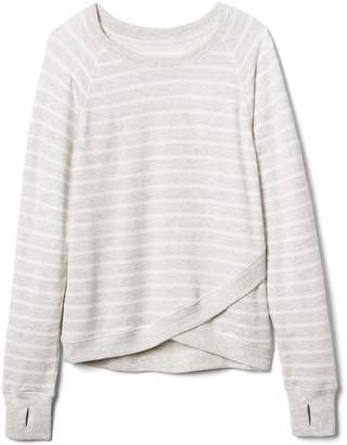 Athleta Girl Stripe Criss Cross My Heart