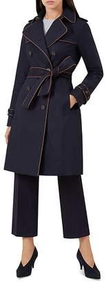 Hobbs London Imogen Piped Trench Coat