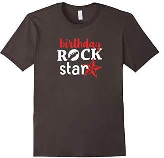 Birthday Rockstar T-shirt -Cool Birthday Theme Party