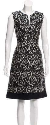 J. Mendel Jacquard Knee-Length Dress