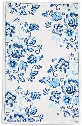 """Sur La Table Floral Tile Kitchen Towel, 28"""" x 18"""""""