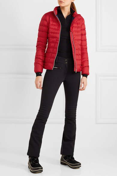 Perfect Moment - Mini Duvet Quilted Down Ski Jacket - Red 3